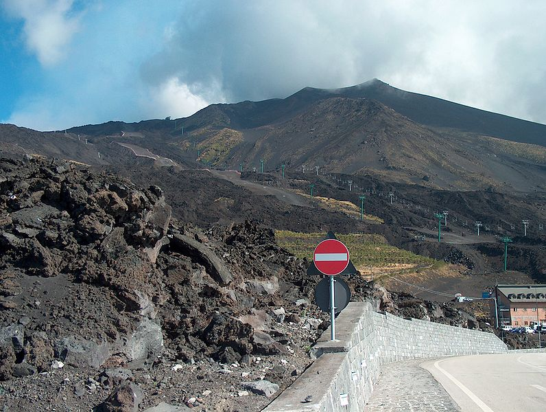 Mt Etna The Highest Mountain In Italy South Of The Alps